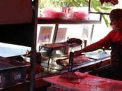 Disfrutando tacos Playa Carmen