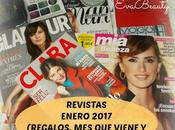 Revistas Enero 2017 (Regalos, Suscripciones viene)