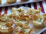 Tartaletas salmon calabacin