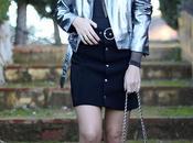 Black body silver shiny