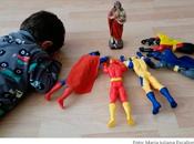 Jesús super héroes foto viral gracias tierno niño