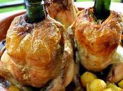Pollo Sentado Cava. Receta Fácil Horno