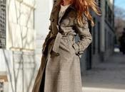 Trench tweed culottes denim blusa cuello.