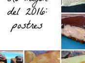 mejor 2016: postres