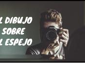 dibujo sobre espejo» Carmelo Beltrán