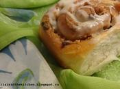 Roulés cannelle beurre d'arachides peanut butter cinnamon rolls espirales canela mantequilla mani/لفات القرفة بزبدة الفول السوداني