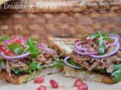 Sandwich Pulled Beef Ensalada Granada