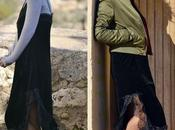 Colaborando dresslily: vestido lencero bomber