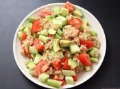 Ensalada quinoa aguacate