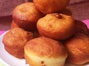 Bolitas donuts rellenas dulce leche