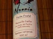 Mascarilla Pasión Frutal Afronía. reseña