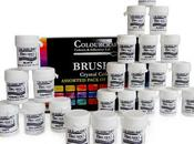 Conociendo material: Brusho Crystal Colour