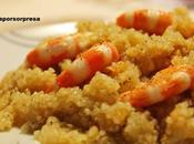 Quinoa langostinos