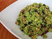 Ensalada tibia brócoli