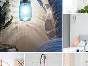 Lámparas handmade para dormitorio