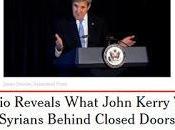 manipuló apoyo EE.UU. Daesh confirmado Kerry privado audio]