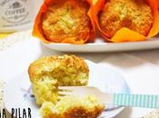Muffins integrales coco piña (¡¡extraordinariamente jugosos!!)