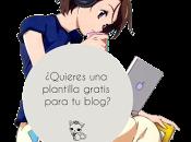 ¿Quieres plantilla gratis para blog?