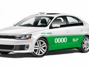 lucirán nuevos taxis Luis Potosí