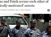 Hamas Fatah detienen presos políticos