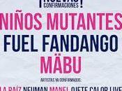 SanSan Festival 2017 suma Niños Mutantes, Fuel Fandango Mäbu