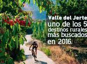 Valle Jerte, destinos rurales buscados 2016