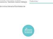 """Presentación logo página """"Elena Velarde Trabaja textos"""""""