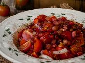 Ensalada tomate granada