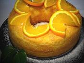 Bizcocho húmedo naranja