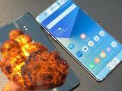 Galaxy Note tuvo defectos diferentes baterías