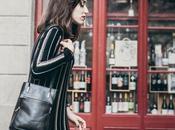 Look Día: Mixed striped dress