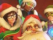 diciembre llegó navidad Overwatch
