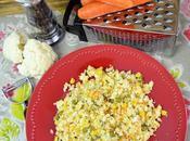 Arroz frito coliflor arroz tres delicias