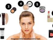 imagenes como maquillarse correctamente rostro paso