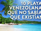 playas Venezuela sabías existían