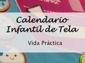 Calendario Infantil Tela- Vida Práctica