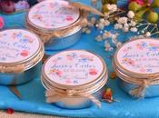 Velas perfumadas, detalles personalizados para bodas.