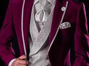 Moderno traje novio borgoña (slim fit)