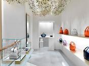 nueva boutique J&M Davidson Boutique, Londres, representación fresca contemporánea lujo moderno