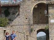 Monteriggioni, pueblo medieval rodeado murallas