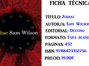 Reseña: Zodiac, Wilson