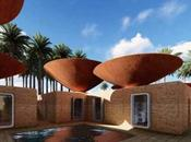 Cuencos tejados para recoger agua lluvia
