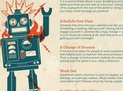Infografía: Cómo personas ajetreadas pueden evitar síndrome...