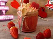 Batido fresa frambuesa yogurt