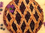 Crostata mirtilli tarta arándanos