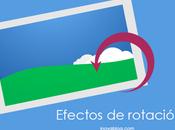 Efectos Rotación CSS: imágenes Giratorias