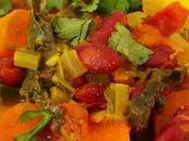 Potaje kale alubias verduras