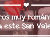 Libros románticos para este Valentín