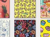 bonita colección libretas diseñadas ilustradores españoles