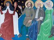Teresa, entre santos siguen Señor Danza